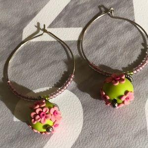 Handmade Polymer Clay Earrings Fresh
